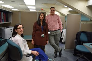 Pathology resident room gets a facelift