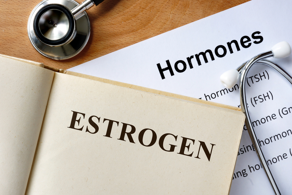I am 53 years old. My doctor wants to treat my menopausal symptoms with an estrogen patch. But she says I need to take progesterone also. Why is this? And are there any side effects of progesterone?