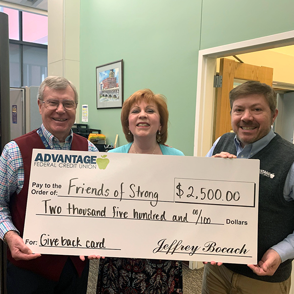 Advantage Federal Credit Union Gives Back for Patient Care