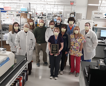 Clinical Microbiology Wins URMC Board Excellence Award
