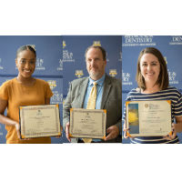 TBS Program Director, Members Recognized for Contributions to Community and Research
