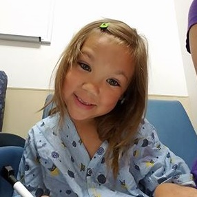 5 Year Old Gives Back to Golisano Children's Hospital