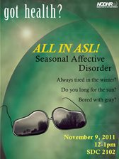 College Health Talk Seasonal Affective Disorder