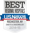 Best Regional Hospitals, U.S. News & World Report: Diabetes & Endocrinology 2014-15