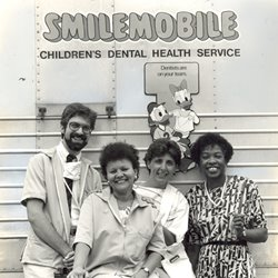 original SMILEmobile in 1967