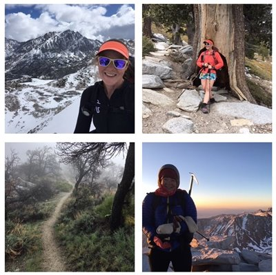 Abby McCarthy, PA, Backpacks on Pacific Crest Trail
