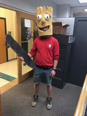 Derek Crowe as Bart Simpson