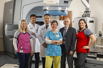 The stereotactic body radiation team