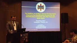 Dr. Harmon Presenting at ACEP Meeting