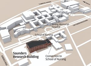 URMC Saunders Research Building home of Preventive Medicine Residency