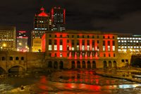 Rochester skyline goes red for World AIDS Day
