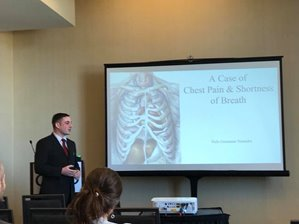 Dr. Jade Malcho presenting at the ACMT 2017 Conference