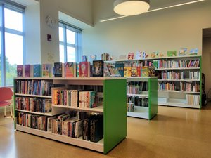 Family Resource Library interior