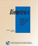Front Cover of Biometrics Journal