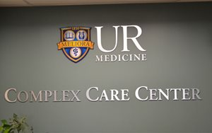 Complex Care Center sign