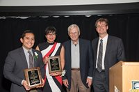 Handelman award winners with Mr. Handelman