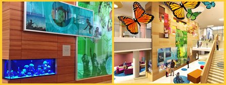 Golisano Children's Hospital Family Atrium