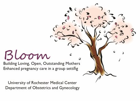Bloom Group Pregnancy Care Logo
