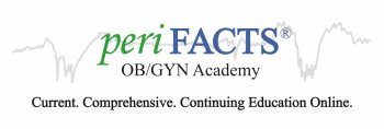 periFACTS OB/GYN Continuing Education CNE CME CEU