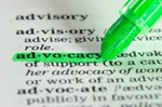 Advocacy Highlighted in a Dictionary