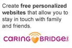 Create free personalized websites with CaringBridge.org
