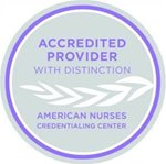 American Nurses Credentialing Center: Accredited Provider with Distinction