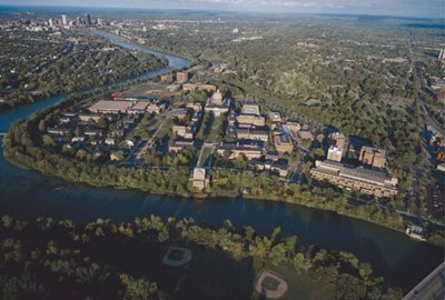 Photo of the University of Rochester Campus