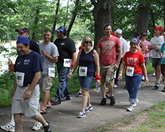 Wilmot Warrior Walk participants