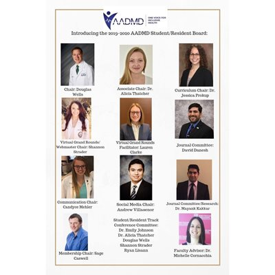 AADMD Student Resident Board