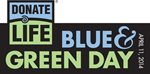 Blue & Green Day logo