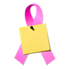 Pink Breast Imaging Ribbon
