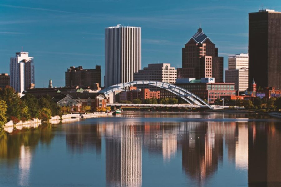 Photo of the Rochester Skyline