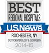 Best Regional Hospitals, U.S. News & World Report: Gastroenterology & GI Surgery 2014-15