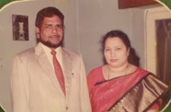 Dr. Baig's parents