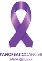 purple ribbon for pancreatic cancer