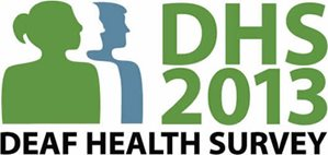 Deaf Health Survey 2013 logo
