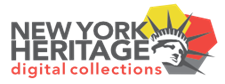 New York Heritage digital collections logo