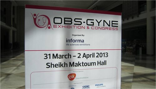 Welcome sign at OBSGYNE