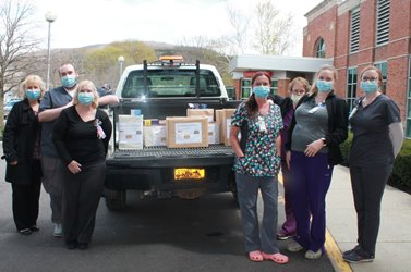 Nurses Food Donation