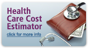Health Care Cost Estimator: click for more info