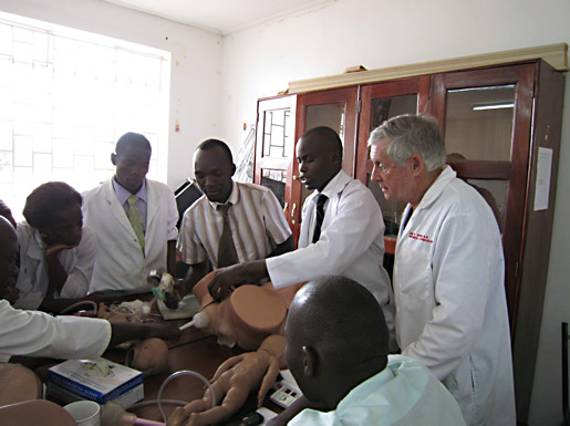 Simulation at University Hospital in Uganda