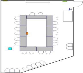 Room layout, SRB 1404