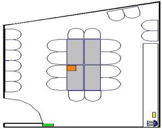 Room layout, 4412