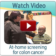 Video:  At-home screening for colon cancer
