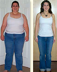 Listed 5 week weight loss transformation results have been