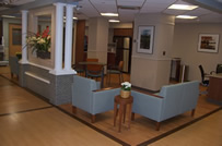Sussman Palliative Care Unit family area