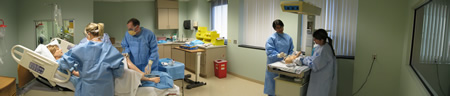Center for Obstetrics and Gynecology Simulation Photo