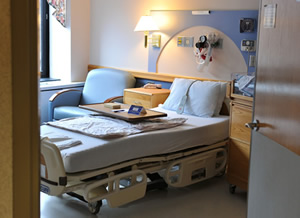 Patient Room at Strong Beginnings
