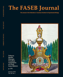 Cover of FASEB Journal