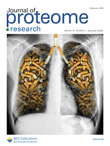 Cover of the Journal of Proteome Research